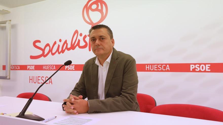 Sabés, candidato a secretario general del PSOE Alto Aragón