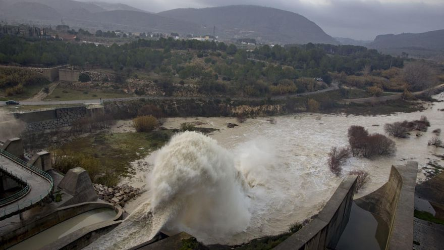 La CHJ aumentará la capacidad de Bellús para evitar riadas en la Ribera