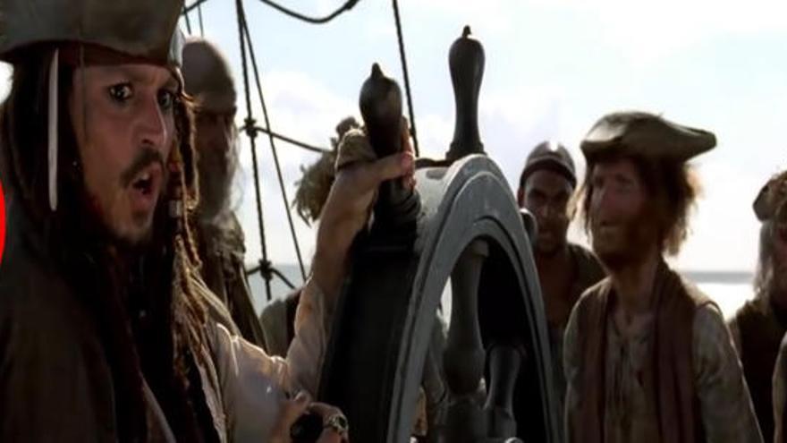 Les millors pífies de la saga 'Piratas del Caribe'