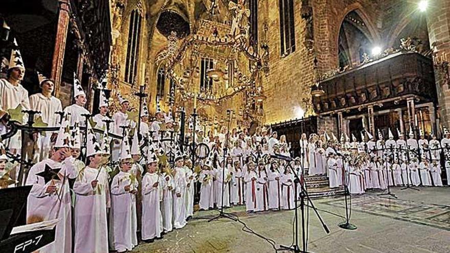 El concierto de Santa Lucía en la Seu tendrá nuevos villancicos