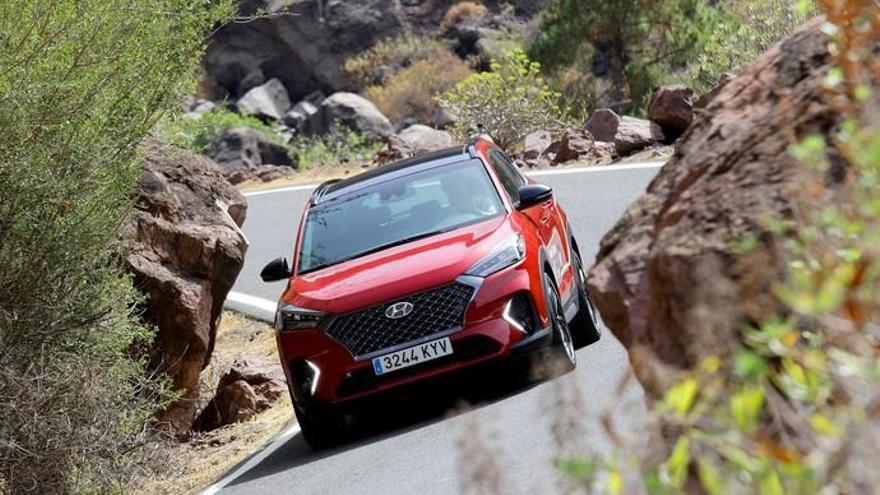 Hyundai Tucson N Line 1.6 T-GDi: Sí, es lo que parece