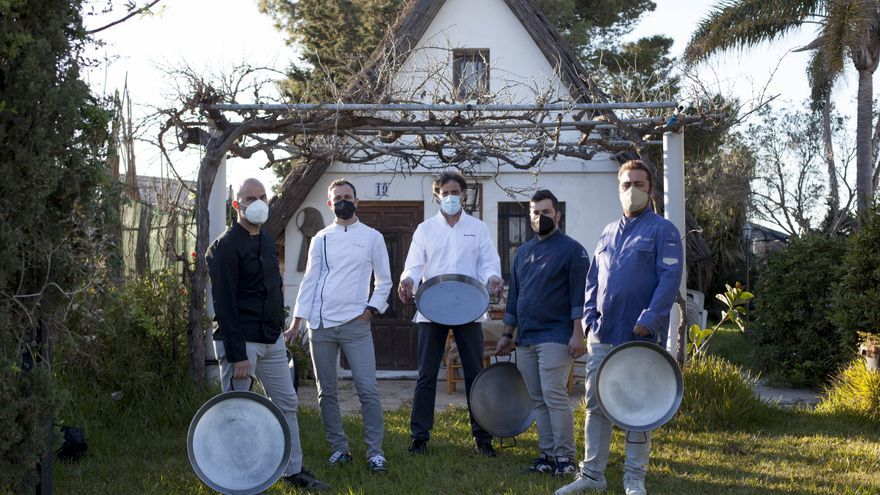 El 'dream team' de la paella