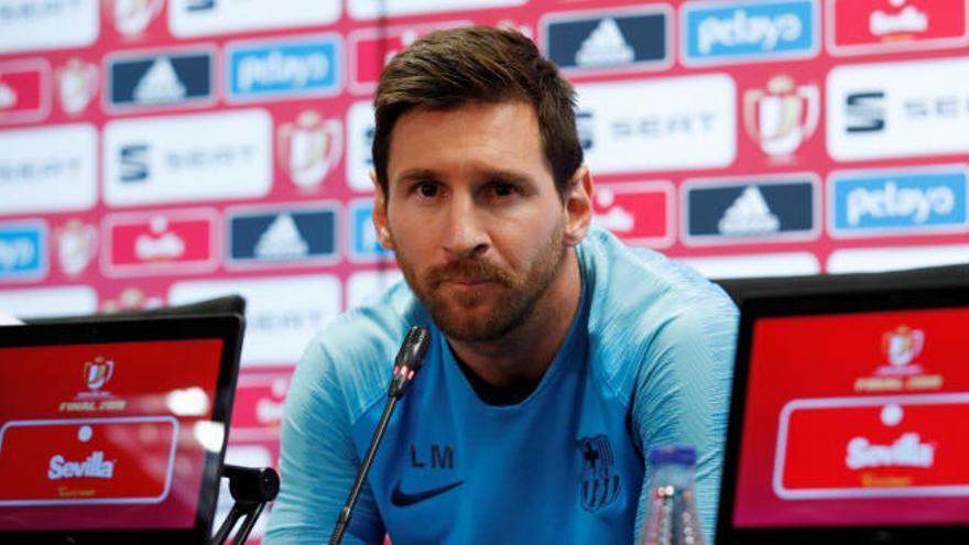 """Leo Messi: """"Lo que pasó en Liverpool fue lamentable"""""""