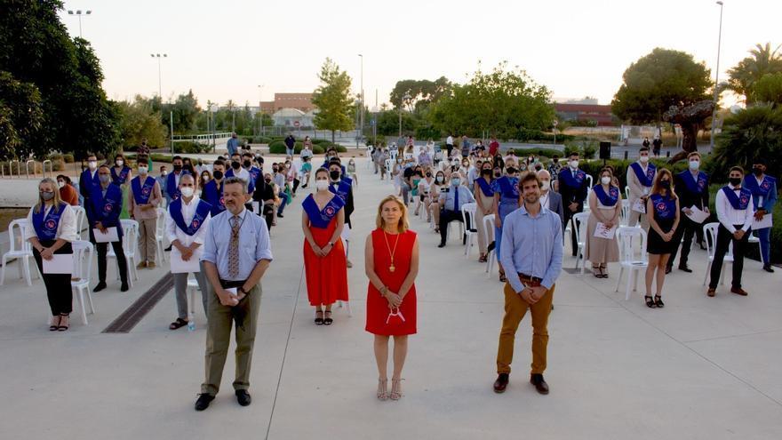 Graduación de la VII y VIII promoción del Grado de Estadística en la UMH