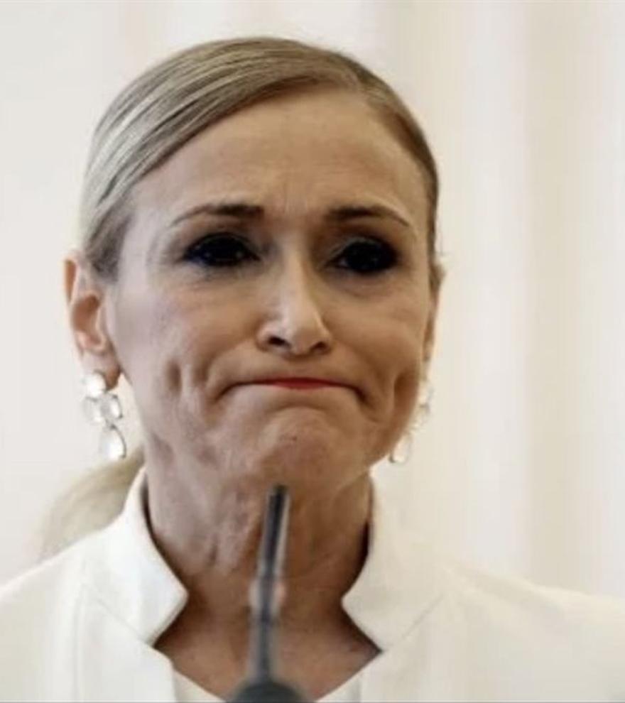 No, Cristina Cifuentes no será concursante de 'Masterchef Celebrity'