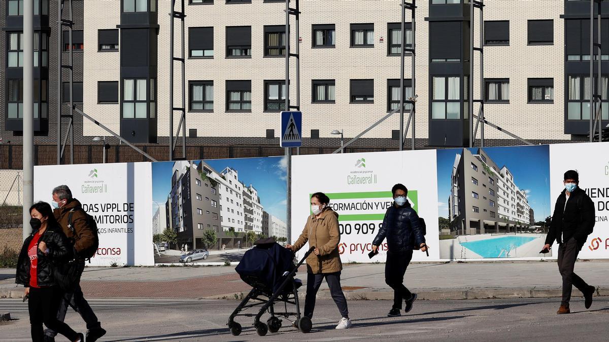 La venta de vivienda subió un 57,9% más que en el mismo mes de 2020.