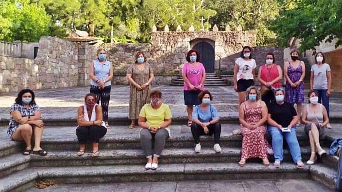 Las mujeres asistentes concluyeron ayer esta iniciativa formativa.
