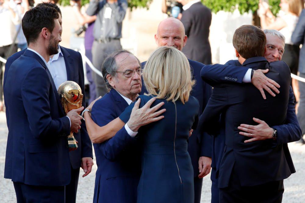 Las imágenes de la celebración de la selección francesa en París