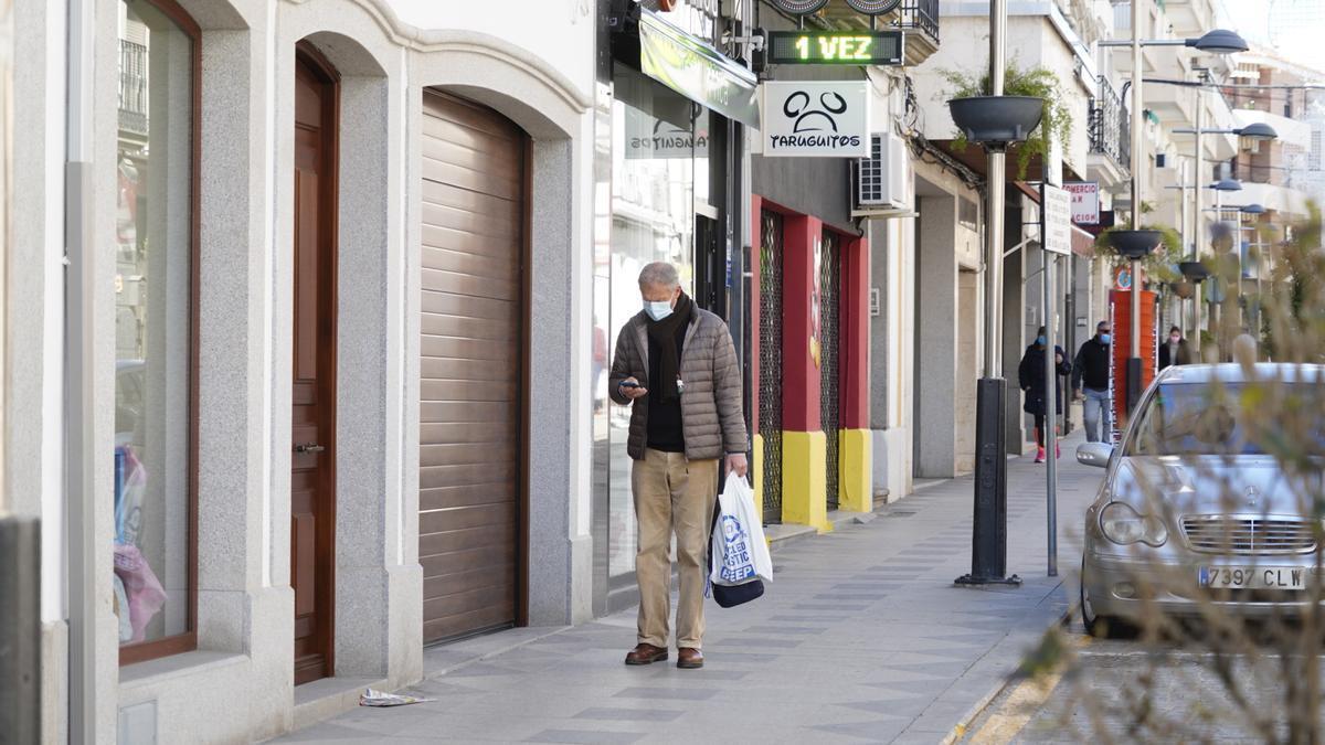 El Centro Comercial Abierto de Pozoblanco agrupa a numerosos negocios de la localidad.