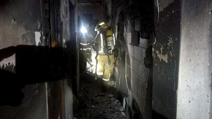 Incendio sin heridos en una vivienda del centro de La Vila Joiosa