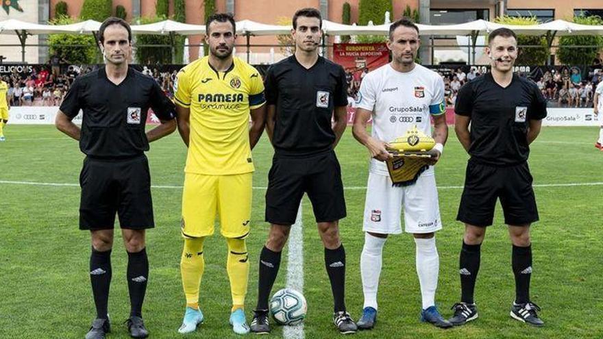 El Villarreal golea a La Nucía en su penúltimo ensayo antes de la Liga (4-0)