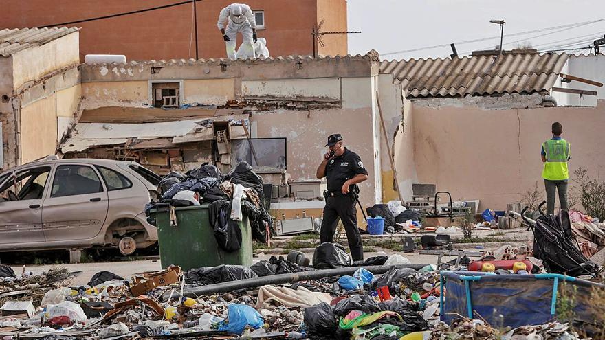 El desalojo de las 90 familias que quedan en Son Banya comenzará a partir de abril