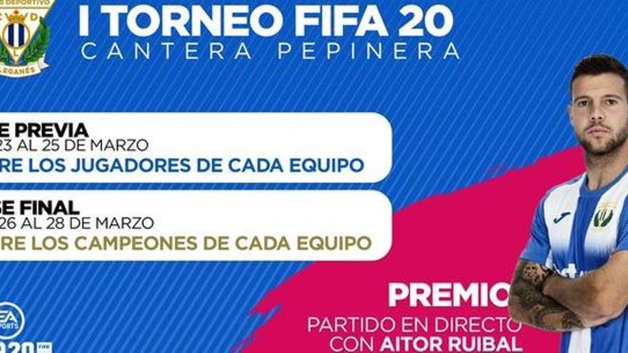 El sallentí Aitor Ruibal, del Leganés, cau a la final del FIFA20 davant el Madrid