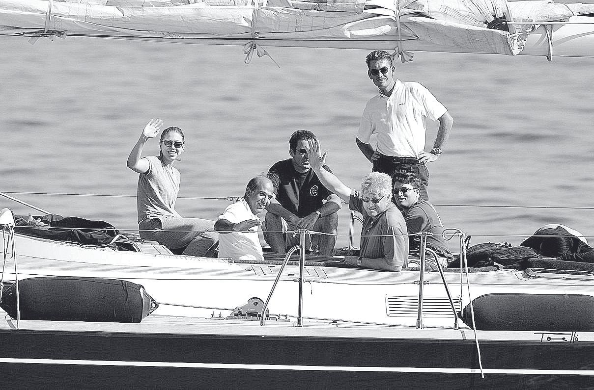 Cuando los famosos posaban en Mallorca