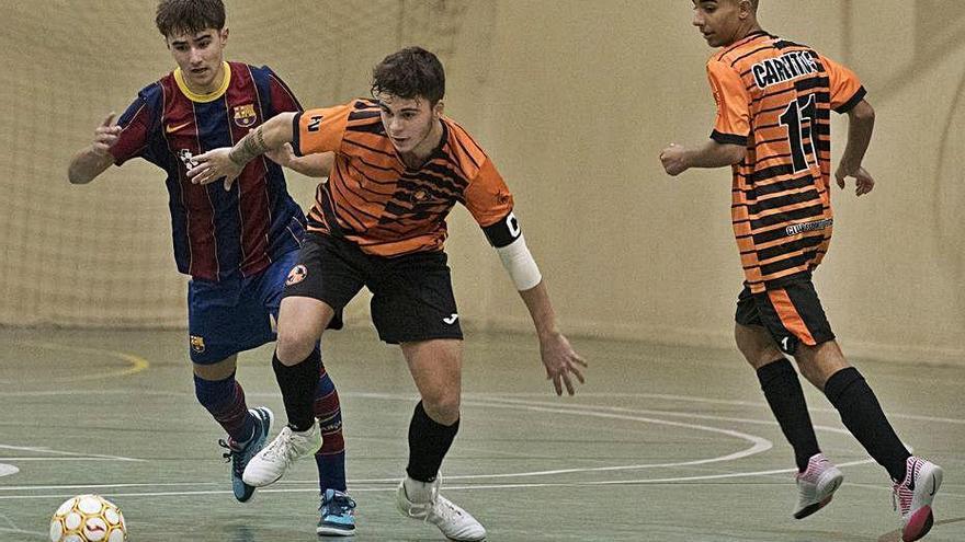 El Futsal Vicentí allarga la bona dinàmica amb un sofert triomf a Salou