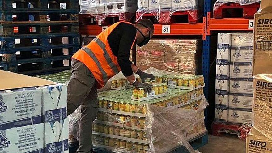 421.788 quilos de menjar per a 20.000 gironins amb necessitats
