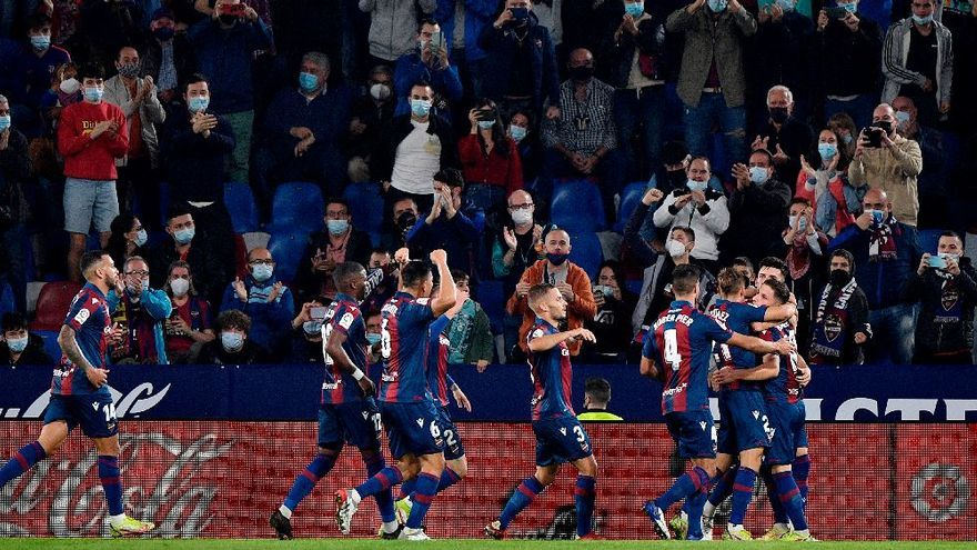 El Levante UD araña un punto ante el Atlético (2-2)
