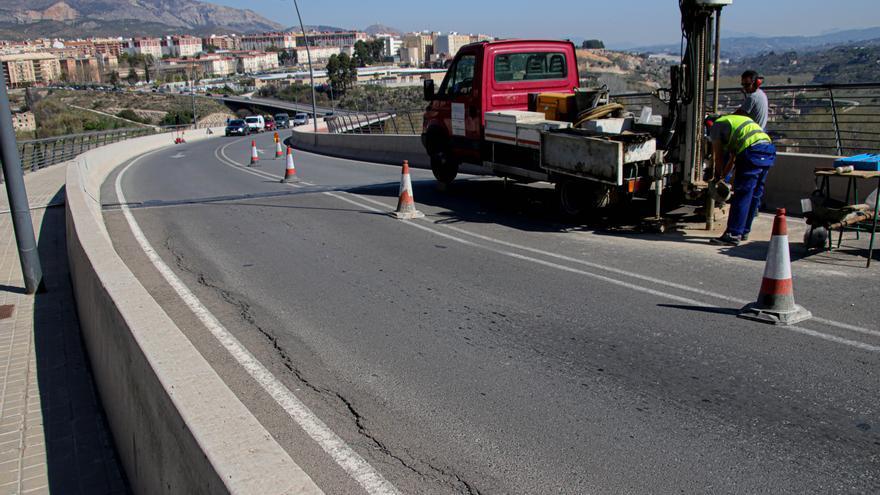 La Generalitat asumirá el coste de la reparación de las grietas del puente Paco Aura de Alcoy