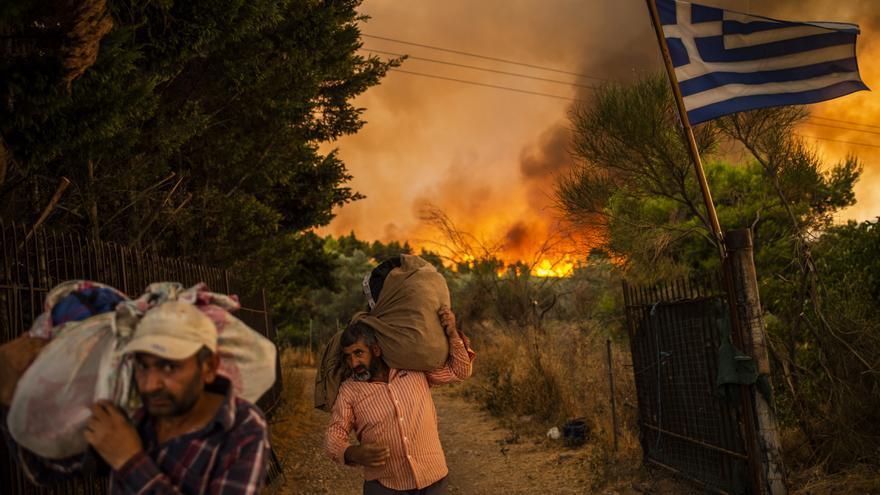 Incendios forestales alrededor del planeta