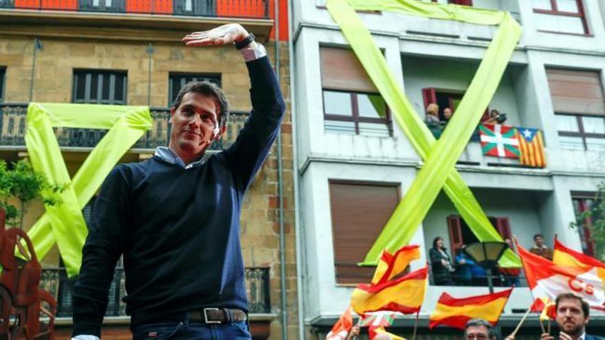 Radicales de la izquierda abertzales organizan un escrache a Rivera en Rentería