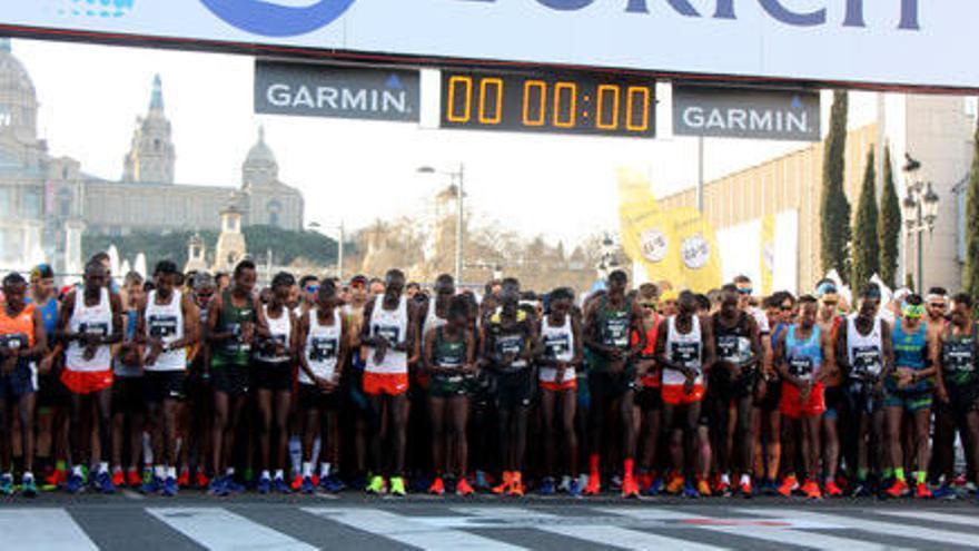Alemu Bekele guanya la 41º edició de la Marató de Barcelona amb nou rècord