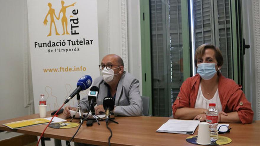 La Fundació Tutelar de l'Empordà detecta més casos de gent gran que té por de sortir de casa arran de la pandèmia