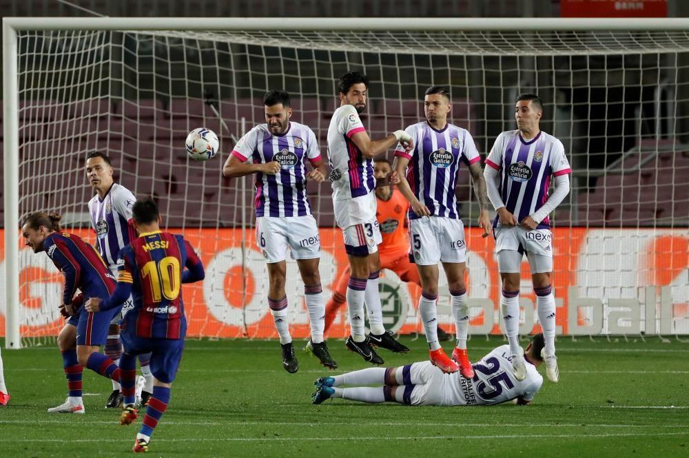 LaLiga Santader: Barcelona - Valladolid