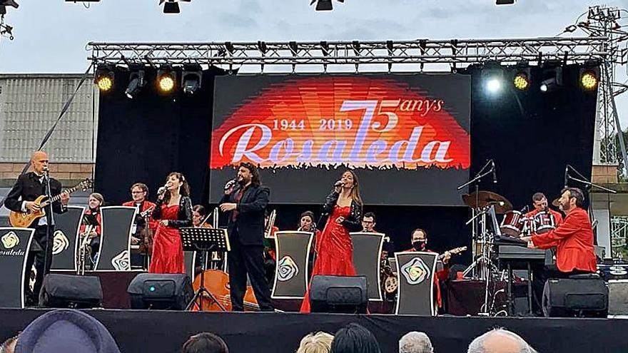 Sallent homenatjarà dissabte que ve l'Orquestra Rosaleda pel 75è aniversari