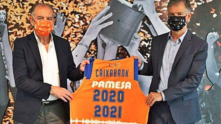 Caixabank renueva su compromiso con el Valencia Basket un año más