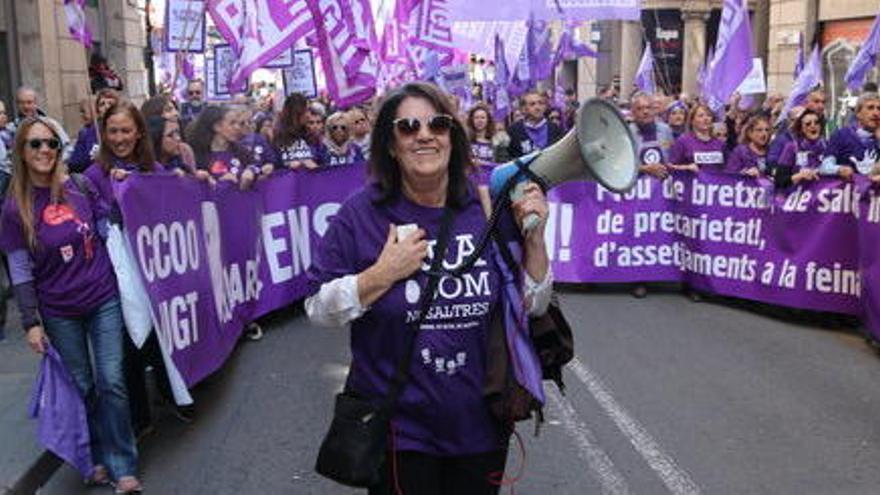 ERC se suma a la vaga feminista del 8-M i reivindica el seu «compromís» amb els drets de les dones