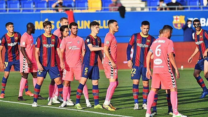 El Alcoyano, obligado a ganar al Nàstic para no alejarse del «play-off» a Segunda
