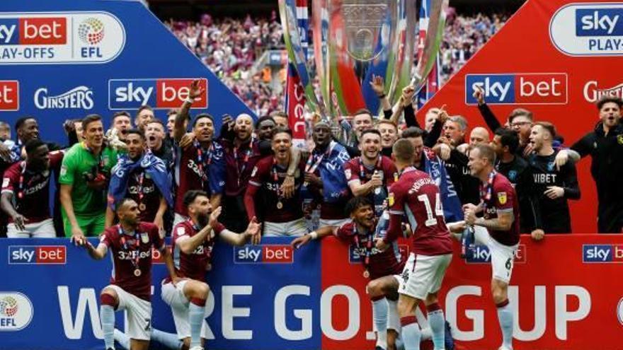 El Aston Villa de García Pitarch vuelve a la Premier