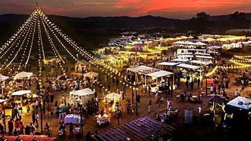 El Santa Market de Santa Cristina d'Aro bat récords d'assistència