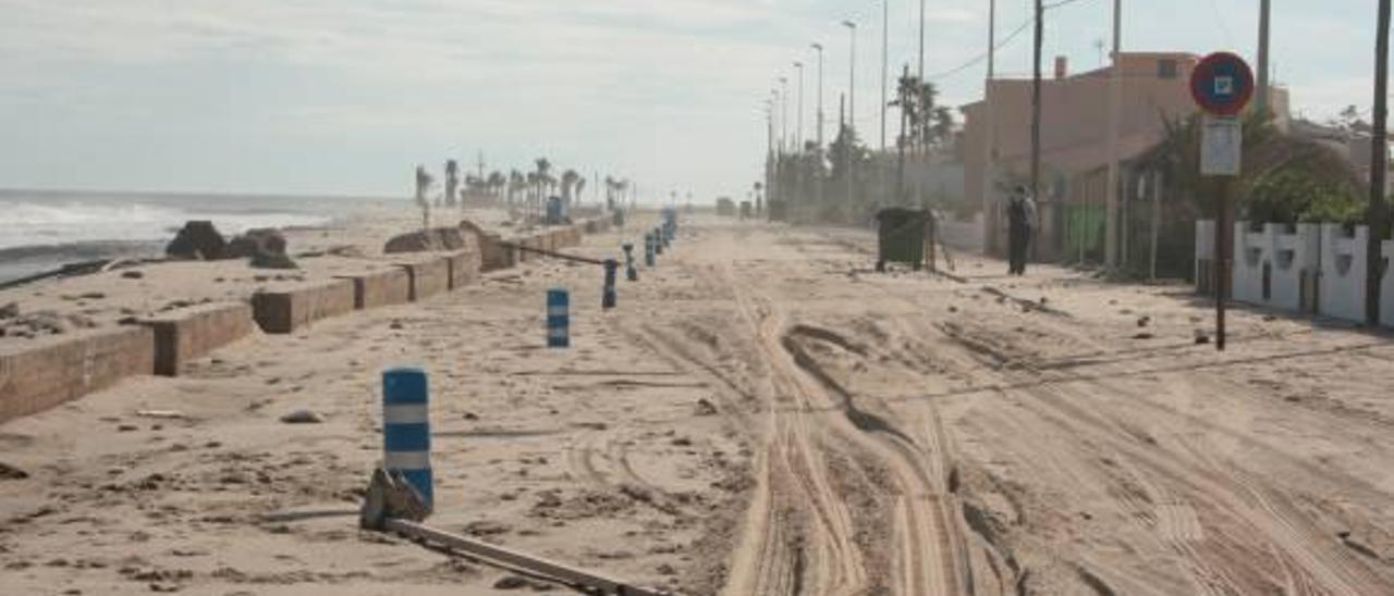 Almassora recibe 2,9 millones de € para las obras de defensa de su playa