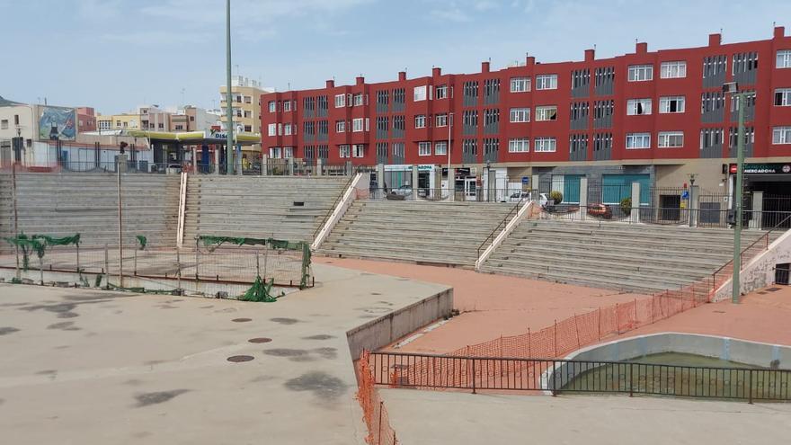 Telde reconvertirá el auditorio del parque de San Gregorio en un área deportiva