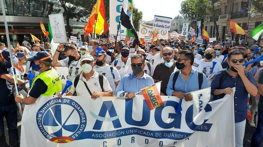 Guardias civiles de Córdoba se suman a la manifestación de Madrid