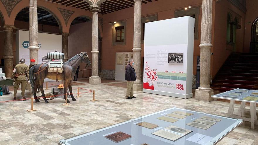 La exposición sobre Cruz Roja en el Palacio de Sástago acumula ya 9.000 visitas
