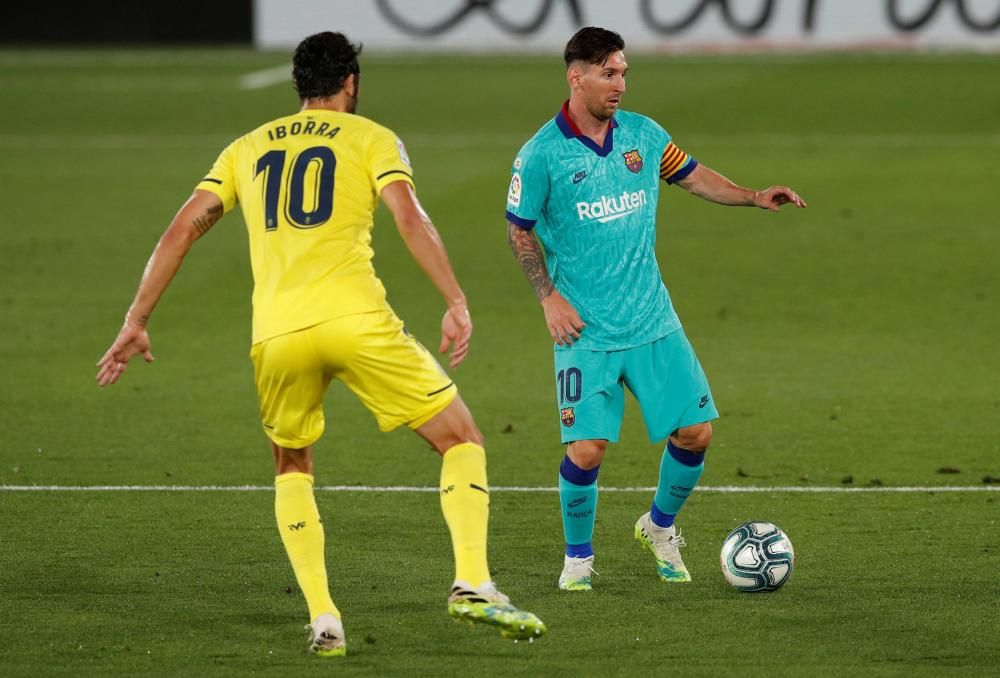 LaLiga Santander. Villarreal - Barcelona.