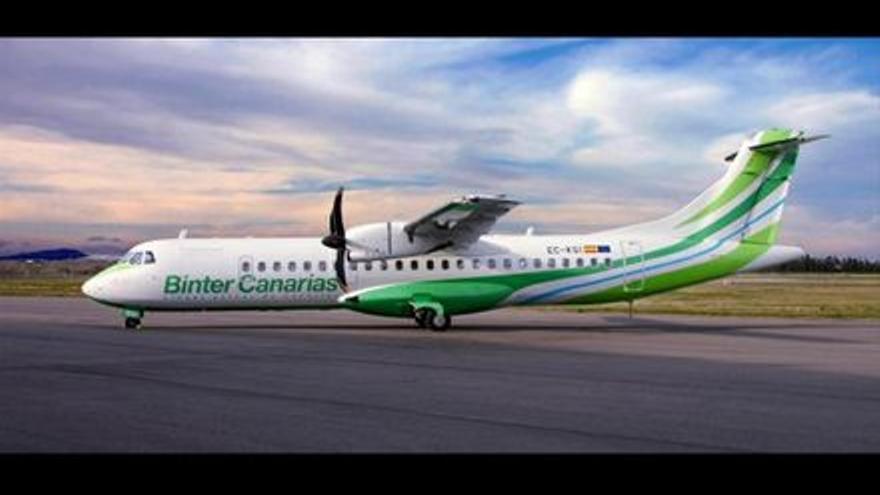 Binter incrementa en un 40% su oferta de vuelos