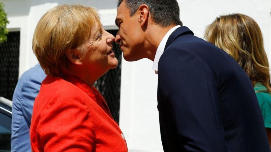 Sánchez i Merkel demanen més esforç a la UE per afrontar el repte migratori