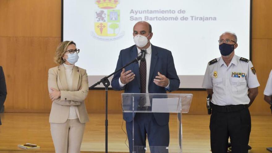 Junta local de seguridad de San Bartolomé de Tirajana