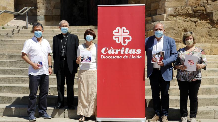 Les Càritas Diocesanes de Solsona, Urgell i Lleida van prestar un 25% més d'ajudes el 2020