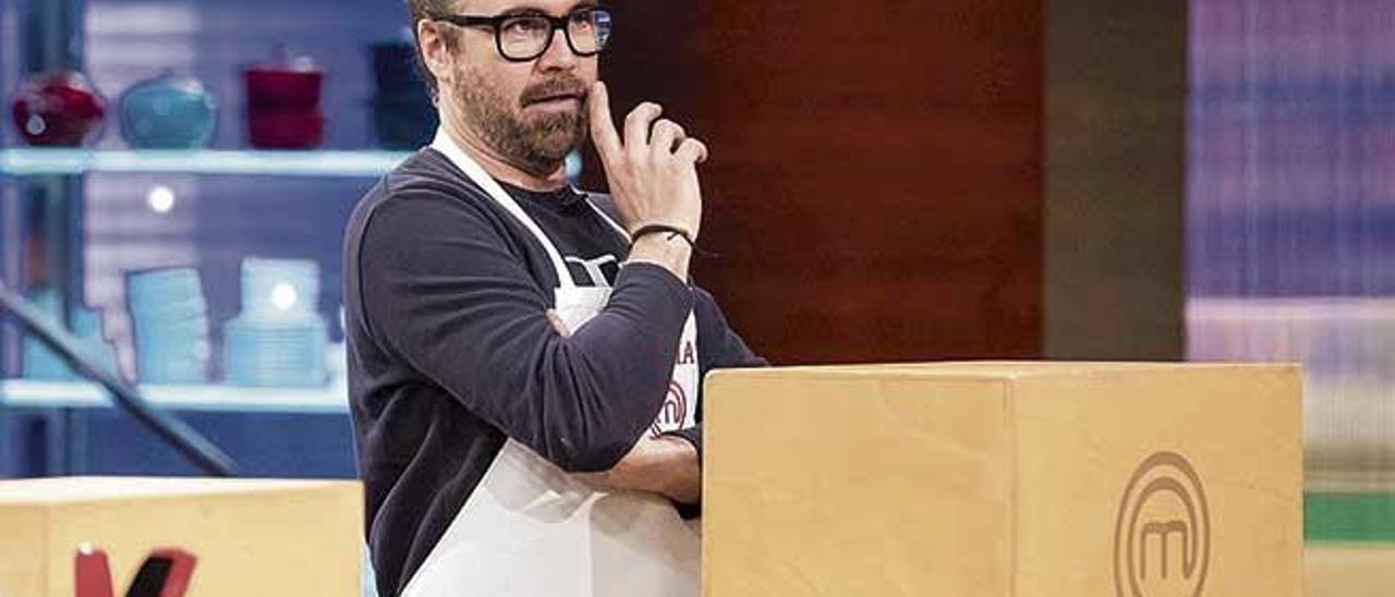 José María Royo, en un momento de la octava edición de 'MasterChef', programa que se emite en La 1 de Televisión Española.