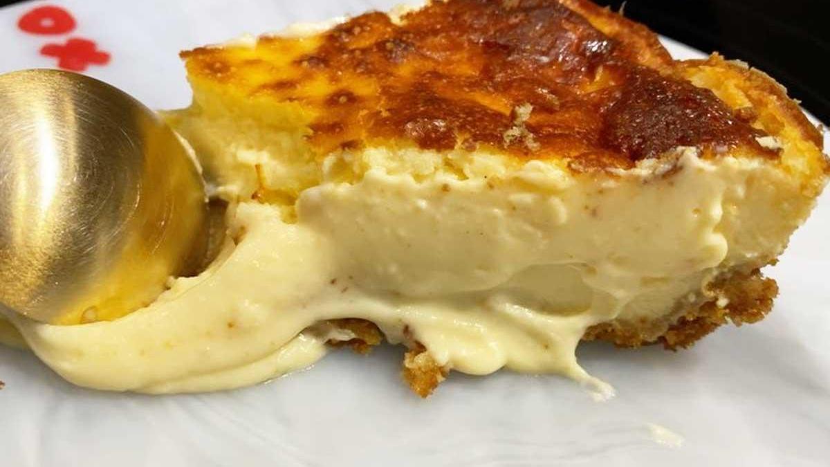 La tarta de queso de Cristina Pedroche.