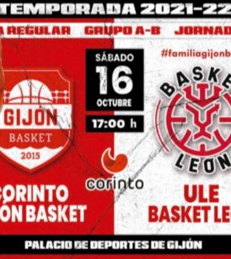 Consigue con LA NUEVA ESPAÑA 5 entradas dobles para acudir al partido del Corinto Gijón Basket el sábado 30 de octubre