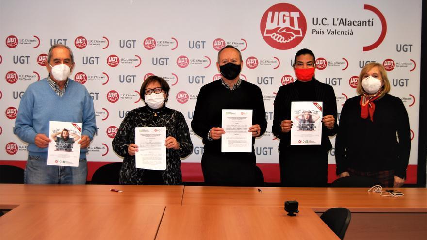 UGT-PV colaborará con la Unión de Consumidores en la Comunidad