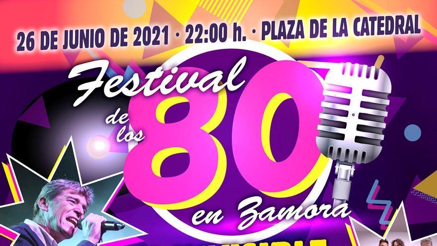 Festival de los 80 en Zamora: Danza Invisible, La Banda del Capitán Inhumano y muchos más