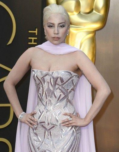 La cantante Lady Gaga.