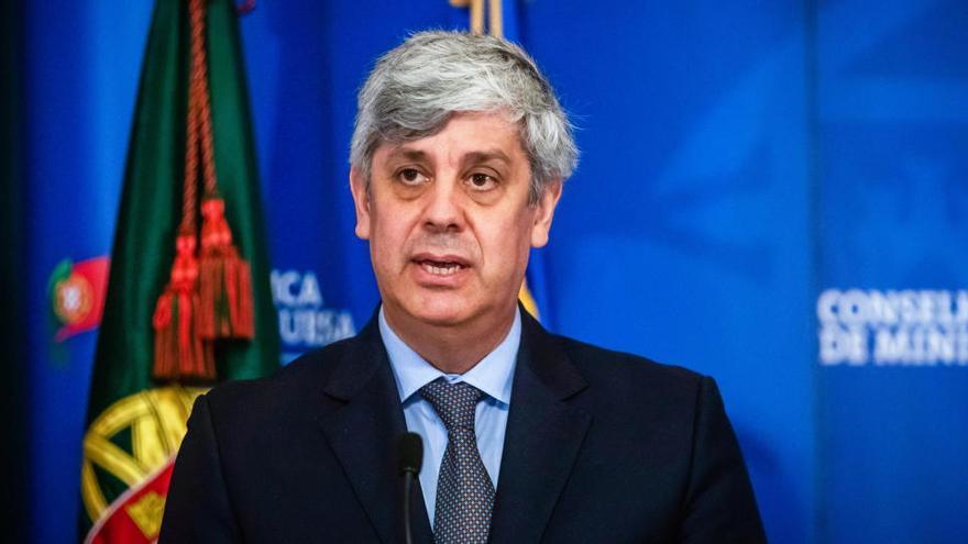 La dimisión de Centeno abre la carrera en el Eurogrupo