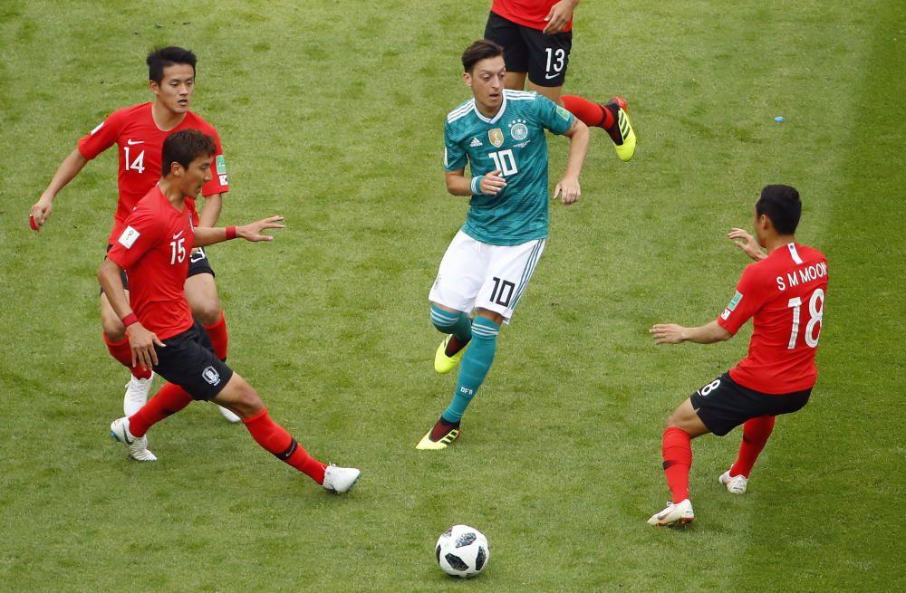 Mundial de Rusia: Corea del Sur  - Alemania